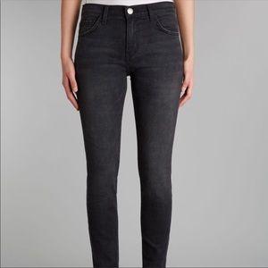 Current / Elliot High Waist Black Jean